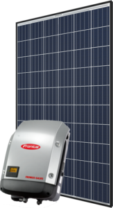 QPLUS panel Fronius inverter